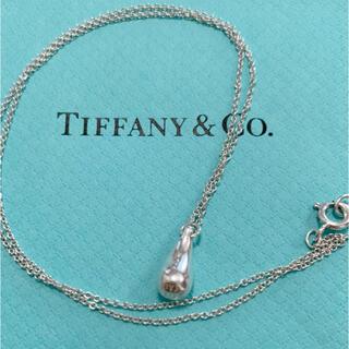 Tiffany & Co. - ティファニー ティアドロップ ネックレス  シルバー925