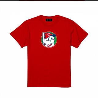 ヒロシマトウヨウカープ(広島東洋カープ)のちいかわ × 広島東洋カープ サークルTシャツ レッド(キャラクターグッズ)