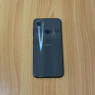 キョウセラ(京セラ)のGRATINA KYV48 simフリー  Android 11  防水/耐衝撃(スマートフォン本体)
