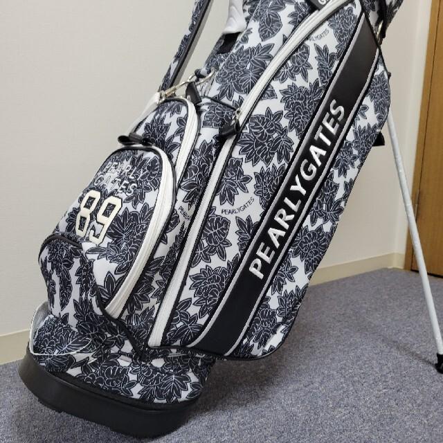 PEARLY GATES(パーリーゲイツ)のパーリーゲイツ キャディーバック 9型 軽量  スポーツ/アウトドアのゴルフ(バッグ)の商品写真