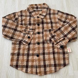 フタフタ(futafuta)の韓国子供服  チェックシャツ(ブラウス)