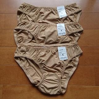 女性用ショーツ ベージュ系 Lサイズ 3枚セット