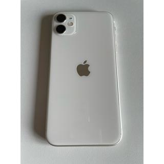 iPhone - 【美品】iPhone11 White 64 GB SIMフリー ホワイト 本体