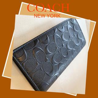 COACH - COACH✦コーチ✦メンズ長財布✦未使用