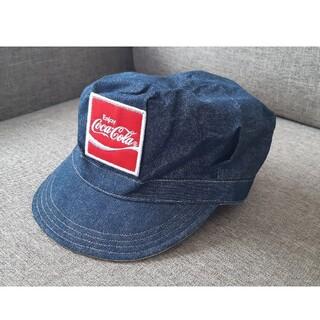 コカコーラ(コカ・コーラ)のシルバーウィーク最終sale・コカ・コーラ・ロゴキャスケット帽(ノベルティグッズ)