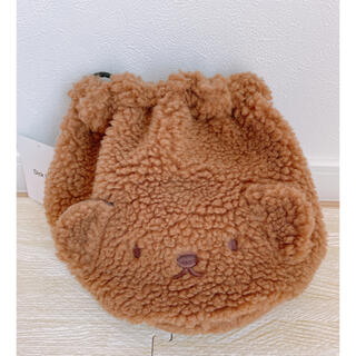 しまむら - 新品◆ボリス 巾着 バッグ しまむら ミッフィー トート ボア