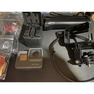 ゴープロ(GoPro)のGoPro hero5 アクセサリー マイクアダプターセット(コンパクトデジタルカメラ)
