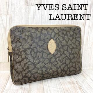 サンローラン(Saint Laurent)のYVES SAINT LAURENT ヴィンテージ PVC クラッチ 9-58(クラッチバッグ)