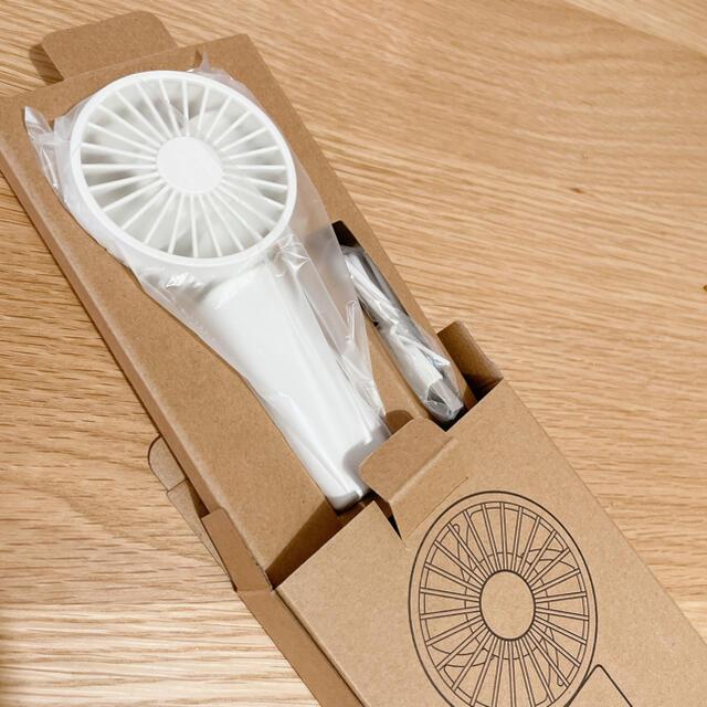MUJI (無印良品)(ムジルシリョウヒン)の無印良品 ハンディファン 扇風機 スマホ/家電/カメラの冷暖房/空調(扇風機)の商品写真