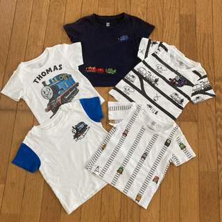 グラニフ(Design Tshirts Store graniph)のgraniph他 トーマスTシャツ 5枚まとめ売り 90cm(Tシャツ/カットソー)