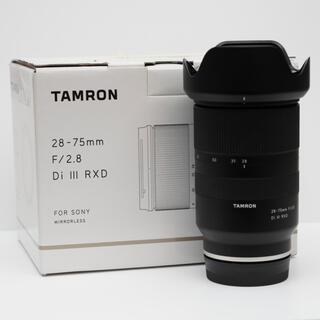 TAMRON - TAMRON 28-75mm f2.8 DIiii RXD