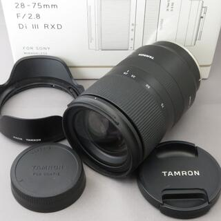 TAMRON - タムロン ソニーE用28-75mmF2.8DiIII RXD A036