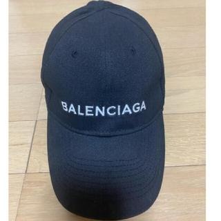 Balenciaga - BALENCIAGA キャップ 黒色