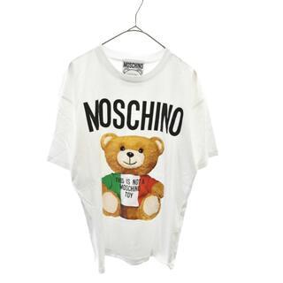 モスキーノ(MOSCHINO)のMOSCHINO モスキーノ 半袖Tシャツ(Tシャツ/カットソー(半袖/袖なし))