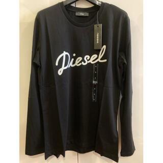 DIESEL - 新品未使用! ディーゼル 長袖Tシャツ ブラックL