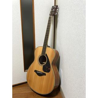ヤマハ(ヤマハ)の調整済 YAMAHA(ヤマハ)FS720S トップ単板 アクセサリー付 アコギ(アコースティックギター)