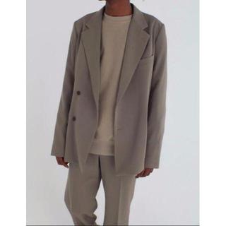 COMOLI - 20AW AURALEE wool max gabardine セットアップ希少
