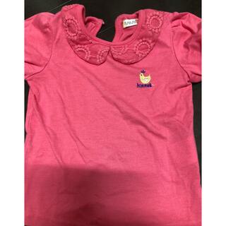 フタフタ(futafuta)のTシャツ フタフタ futafuta ピンク 襟付き 110  ティーシャツ(Tシャツ/カットソー)