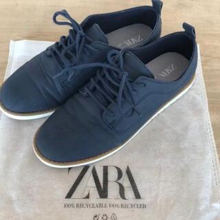 ZARA KIDS - ZARA BOY * レースアップシューズ  37  23.6cm