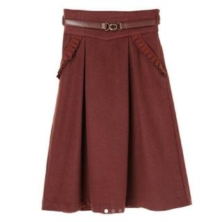 Maison de FLEUR - canone クグロフをこぼさないでねスカート