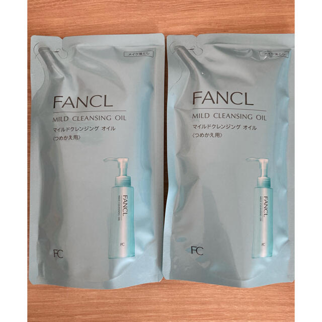 FANCL(ファンケル)の【新品】ファンケル マイルドクレンジングオイル 詰め替え2個パック コスメ/美容のスキンケア/基礎化粧品(クレンジング/メイク落とし)の商品写真