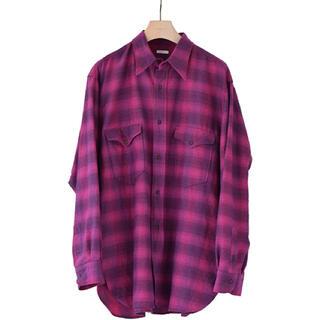 COMOLI - コモリ21aw ウールシルクワークシャツ