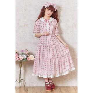 アクシーズファム(axes femme)の青木美沙子ちゃん着用 petit rose ピンク(ロングワンピース/マキシワンピース)