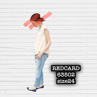 IENA - RED CARD 63502 size24used