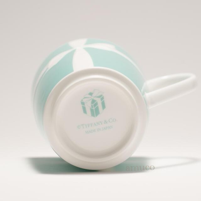 Tiffany & Co.(ティファニー)の【NY限定・未使用】ティファニー マグカップ リボン / ブルー ボックス入り インテリア/住まい/日用品のキッチン/食器(グラス/カップ)の商品写真