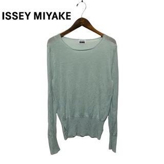 イッセイミヤケ(ISSEY MIYAKE)の【ISSEY MIYAKE FETE】00s デザインニットカットソー(ニット/セーター)