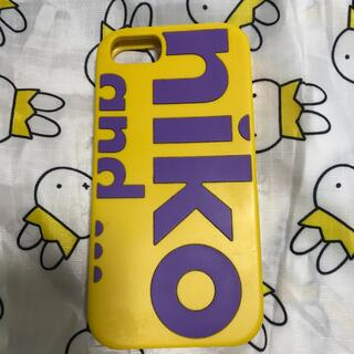 ニコアンド(niko and...)のニコアンド niko and... スマホケース 美品 iPhoneケース(iPhoneケース)