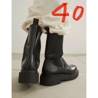 エイチアンドエム(H&M)のH&M プラットフォームチェルシーブーツ サイドゴアブーツ(ブーツ)
