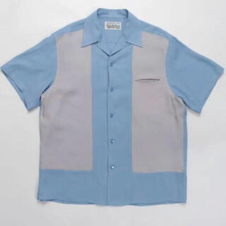 ワコマリア(WACKO MARIA)の大人気 即完売品 WACKO MARIA ツートン50sシャツ(シャツ)