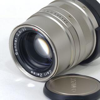 キョウセラ(京セラ)のCONTAX Carl Zeiss Sonnar T* F2.8/90mm G(レンズ(単焦点))