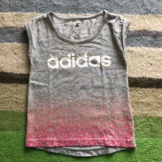 adidas - アディダス * フレンチスリーブ Tシャツ 女の子 120cm