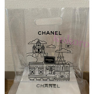 CHANEL - シャネル クリアバッグ ハンドバッグ PVC ノベルティ 非売品 新品未使用