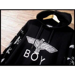 ボーイロンドン(Boy London)の★ G① XL BOY LONDON ボーイロンドン ロゴ スウェット パーカー(パーカー)