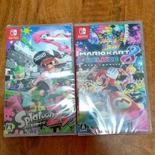 Nintendo Switch - 【新品未使用】マリオカート8デラックス&スプラトゥーン2  Switch