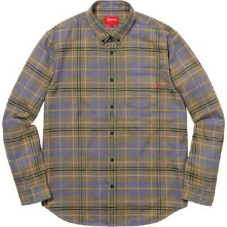 Supreme - Supreme Tartan Flannel Shirt M