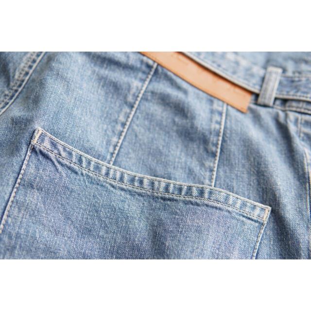LOEWE(ロエベ)の【登坂広臣着】LOEWE ハイウエストデニムパンツ サイズ48 ワイドジーンズ メンズのパンツ(デニム/ジーンズ)の商品写真