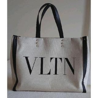 VALENTINO - VALENTINOヴァレンティノ キャンバストートバッグ 美品