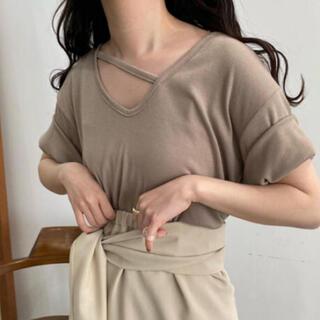 トゥデイフル(TODAYFUL)の【期間限定】♡Lawgy♡アシンメトリーラフTセット(Tシャツ(半袖/袖なし))