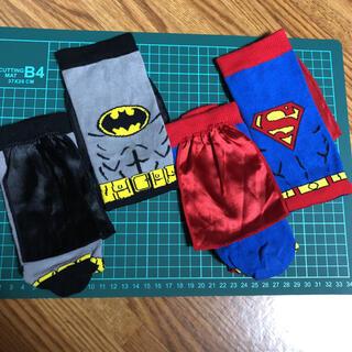 エイチアンドエム(H&M)のH&M バットマン スーパーマン 靴下(ソックス)
