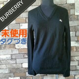 バーバリー(BURBERRY)のBURBERRY 黒 ニット 長袖(ニット/セーター)