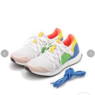 アディダスバイステラマッカートニー(adidas by Stella McCartney)の新品タグ付き adidas ステラマッカートニー 限定スニーカー24.0(スニーカー)