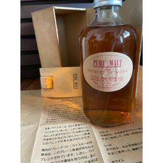 ニッカウイスキー(ニッカウヰスキー)のピュアモルト レッド ウィスキー特級 古酒未開封(ウイスキー)