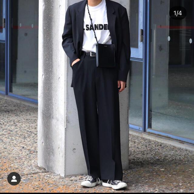 Jil Sander(ジルサンダー)のジルサンダー  jilsander ロゴtシャツ  s メンズのトップス(Tシャツ/カットソー(半袖/袖なし))の商品写真