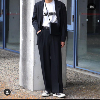 Jil Sander - jilsanderロゴtシャツ