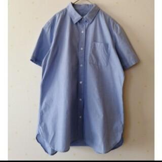 ムジルシリョウヒン(MUJI (無印良品))の無印良品3Lサイズシャツ大きいサイズ(シャツ/ブラウス(半袖/袖なし))