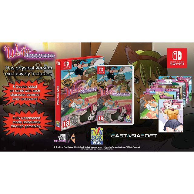 Nintendo Switch(ニンテンドースイッチ)の【新品】Waifu アンカバード 限定版【レア】 エンタメ/ホビーのゲームソフト/ゲーム機本体(家庭用ゲームソフト)の商品写真